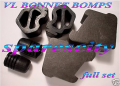COMMODORE for VL BROCK BONNET BUMPERS 6 NEW GMH WALKY