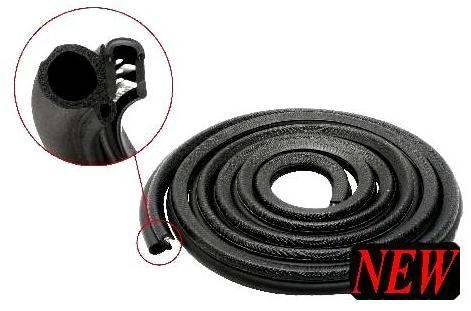 Ford For Falcon Xd Xe Xf Door Seal Rubber New