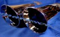 HOLDEN HSV GENUINE VZ MONARO 95mmMOUTH EXHAUST TIPS NEW