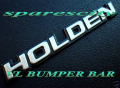 COMMODORE HOLDEN BADGE FRONT BUMPER FOR VL CALAIS