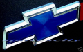 HOLDEN CHEV BOWTIE for VT VX VY VZ SS BADGE BLUE AND CHROME