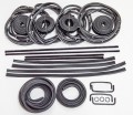 HOLDEN COMMODORE VB VC VH VK SEDAN RUBBER KIT DOOR WEATHER SEAL BAILEY 25pcs