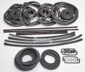 HOLDEN COMMODORE VL SEDAN BODY RUBBER KIT DOOR WEATHER SEAL BAILEY 29pcs