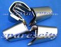 COMMODORE for VY VZ 4 SATIN CHROME STEERING INSERT NOS