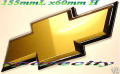 CHEV BADGE for COMMODORE SS VT VX VY VZ VE GOLD CHROME