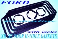 FORD FALCON GASKET SET DOOR HANDLE for XB XC ZG-ZH NEW